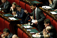 Maurizio Martina, secretary of Democratic Party<br /> Rome February 13th 2019. Lower Chamber. Ministers of Internal Affairs, of Labour and of Health at the Question Time at the Chamber of Deputies.<br /> Foto Samantha Zucchi Insidefoto