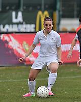 France U19 - Belgium U19 : Clarisse Le Bihan.foto DAVID CATRY / Nikonpro.be