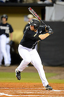 Central Florida Knights third baseman Chris Taladay #20 during a game against the Siena Saints at Jay Bergman Field on February 15, 2013 in Orlando, Florida.  UCF defeated Siena 7-1.  (Mike Janes/Four Seam Images)