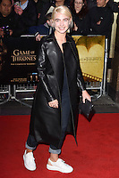 """Jess Woodley<br /> at the """"Game of Thrones Hardhome"""" gala screening, Empire, Leicester Square London<br /> <br /> <br /> ©Ash Knotek  D3098 12/03/2016"""