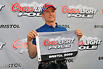 Aug 21, 2009; 6:41:28 PM;Bristol, TN, USA; NASCAR Sprint Cup Series qualifying for the Sharpie 500 at the Bristol Motor Speedway.  Mandatory Credit: (thesportswire.net)