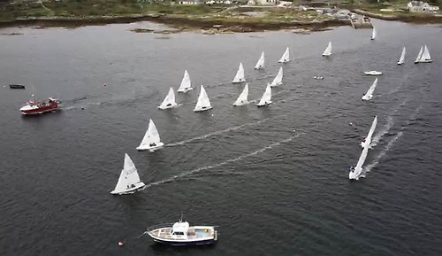 A new tradition in the heartland of traditional boats? September racing for the growing fleet of Flying Fifteens at Casla in Connemara