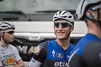 a relaxed Marcel Kittel (DEU/Etixx-QuickStep) at the start<br /> <br /> 101st Kampioenschap van Vlaanderen 2016 (UCI 1.1)<br /> Koolskamp › Koolskamp (192.4km)