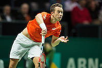 Rotterdam, The Netherlands, February 12, 2016,  ABNAMROWTT, Philipp Kohlschreiber (GER)<br /> Photo: Tennisimages/Henk Koster