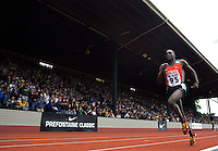 EUGENE, OR--Paul Koech en route to a 3000 meter Steeplechase win during the Steve Prefontaine Classic, Hayward Field, Eugene, OR. SUNDAY, JUNE 10, 2007. PHOTO © 2007 DON FERIA