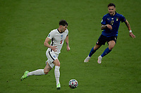 John Stones of England  , challenged by Ciro Immobile of Italy during the Uefa Euro 2020 Final football match between Italy and England at Wembley stadium in London (England), July 11th, 2021. Photo Andrea Staccioli / Insidefoto