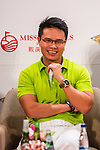 XXX attends a press conference during the Mission Hills Celebrity Pro-Am on 24 October 2014, in Haikou, China. Photo by Aitor Alcalde / Power Sport Images