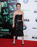 Tina Majorino attends The Warner Bros. L.A. Premiere of Veronica Mars Movie held at The TCL Chinese Theatre in Hollywood, California on March 12,2014                                                                               © 2014 Hollywood Press Agency