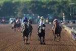 ARCADIA, CA - NOVEMBER 05: Classic Empire #5 (right), ridden by Julien Leparoux, wins the Sentient Jet Breeders' Cup Juvenile during day two of the 2016 Breeders' Cup World Championships at Santa Anita Park on November 5, 2016 in Arcadia, California. (Photo by Kaz Ishida/Eclipse Sportswire/Breeders Cup)