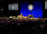 Governor Paul R. LePage speaking at his second inauguration, Augusta Civic Center, Augusta, Maine, USA, January 7, 2015.