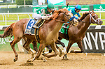 JUNE 07, 2019 : Catalina Cruiser, with Joel Rosario, wins the True North Stakes, at Belmont Park, in Elmont, NY, June 7, 2019.  Sue Kawczynski_ESW_CSM