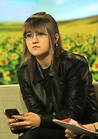 May 04, 2012 Sarah the Star Stalker on Good Morning America in New York City. Credit: RW/MediaPunch Inc.