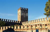Castel Vecchio in Verona,Venetien-Friaul, Italien, Unesco-Welterbe