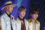 RM, Ji-Min and J-Hope(BTS), Dec 04, 2019 : RM, Jimin, J-Hope, BTS, 2019 Mnet Asian Music Awards (MAMA) in Nagoya, Japan on December 4, 2019. (Photo by Pasya/AFLO)
