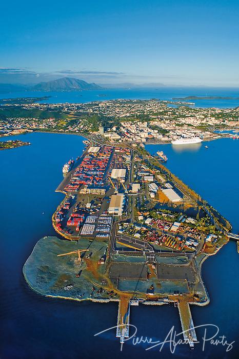 Nouméa, le port