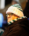 An unhappy Blyth fan. Blyth Spartans v Brackley Town, 30112019. Croft Park, National League North. Photo by Paul Thompson.