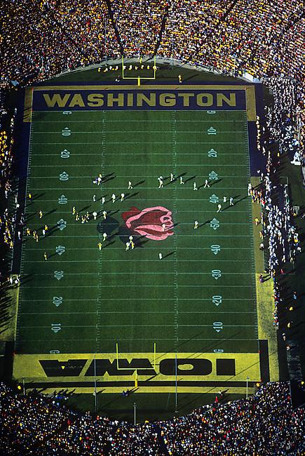 Aerial, Rosebowl Football Game, Pasadena, California