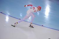 OLYMPICS: SOCHI: Adler Arena, 12-02-2014, 1000m Men, Denis Yuskov (RUS), ©foto Martin de Jong