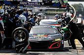 2017 IMSA WeatherTech SportsCar Championship<br /> Mobil 1 Twelve Hours of Sebring<br /> Sebring International Raceway, Sebring, FL USA<br /> Saturday 18 March 2017<br /> 86, Acura, Acura NSX, GTD, Oswaldo Negri Jr., Tom Dyer, Jeff Segal pit stop<br /> World Copyright: Michael L. Levitt/LAT Images<br /> ref: Digital Image levitt_seb_0317-23808