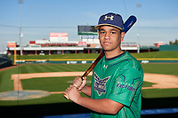 Lincoln Greasley during the Under Armour All-America Tournament powered by Baseball Factory on January 17, 2020 at Sloan Park in Mesa, Arizona.  (Zachary Lucy/Four Seam Images)