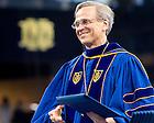 May 16, 2015; President Rev. John Jenkins, C.S.C. at the Graduate School Commencement ceremony. (Photo by Matt Cashore/University of Notre Dame)