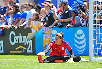 Chicago, IL - July 9, 2016: The U.S. Women's National team defeat South Africa 1-0 during an international friendly game at Soldier field.