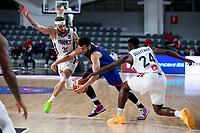 22nd February 2021, Podgorica, Montenegro; Eurobasket International Basketball qualification for the 2022 European Championships, England versus France;  Luke Nelson of Great Britain