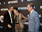 "Tony Goldwyn, Tatiana Maslany and Bryan Cranston attends the Broadway Opening Night After Party  for ""Network"" at Jack's Studios on December 6, 2018 in New York City."