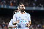 Daniel Carvajal of Real Madrid warming up during the Supercopa de Espana Final 1st Leg match between FC Barcelona and Real Madrid at Camp Nou on August 13, 2017 in Barcelona, Spain. Photo by Marcio Rodrigo Machado / Power Sport Images