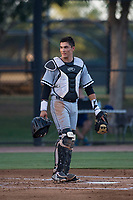 AZL White Sox catcher Ty Greene (26) during an Arizona League game against the AZL Dodgers at Camelback Ranch on July 7, 2018 in Glendale, Arizona. The AZL Dodgers defeated the AZL White Sox by a score of 10-5. (Zachary Lucy/Four Seam Images)