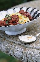 """Europe/Italie/Côte Amalfitaine/Campagnie/Sant'Agata Sui Due Golfi : Couscous de poulpes à la tomate - Recette d'Alfonso Iaccarino du restaurant """"Don Alfonso 1890"""""""