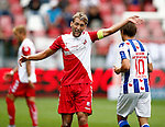 Nederland, Utrecht, 16 augustus 2015<br /> Eredivisie<br /> Seizoen 2015-2016<br /> FC Utrecht-SC Heerenveen<br /> Willem Janssen, aanvoerder van FC Utrecht geeft aanwijzingen