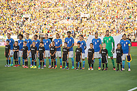 action photo during the match Brasil vs Ecuador, at Rose Bowl Stadium Copa America Centenario 2016. ---Foto  de accion durante el partido Brasil vs Ecuador, En el Estadio Rose Bowl, Partido Correspondiante al Grupo -B-  de la Copa America Centenario USA 2016, en la foto: Brasil<br /> --- 04/06/2016/MEXSPORT/ David Leah.