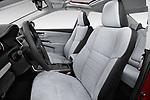 Front seat view of a 2015 Toyota camry hybrid 4 Door Sedan front seat car photos