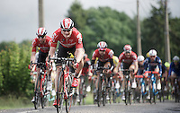 André Greipel (DEU/Lotto-Soudal) leading the way<br /> <br /> stage 4: Hotel Verviers - La Gileppe (Jalhay/BEL) 186km <br /> 30th Ster ZLM Toer 2016