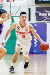 Soo Yan Lok #11 of Nam Ching Basketball Team handles the ball against the HKPA during the Hong Kong Basketball League game between Nam Ching and  HKPA at Southorn Stadium on June 12, 2018 in Hong Kong. Photo by Yu Chun Christopher Wong / Power Sport Images