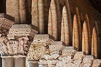 Europe/France/Midi-Pyrénées/82/Tarn-et-Garonne/Moissac: Eglise abbatiale Saint-Pierre de Moissac - étape du chemin de Saint-Jacques-de-Compostelle, classé Patrimoine Mondial de l'UNESCO, Le Clotre