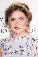 Chelsea Halfpenny<br /> in the winners room for the BAFTA TV Awards 2018 at the Royal Festival Hall, London<br /> <br /> ©Ash Knotek  D3401  13/05/2018