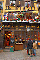 Strasburg - France - Christmas restaurant