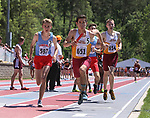 STURGIS, SD: MAY 25:  CAPTION    during the 2018 South Dakota State High School Track Meet at Woodle Field in Sturgis, S.D.  (Photo by Dick Carlson/Inertia)