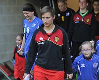 Qualification Women's Euro 2013 - Belgium - Iceland ; Belgie - Ijsland ; Armand Melis Stadion Dessel :.Niki De Cock.foto DAVID CATRY / Vrouwenteam.be
