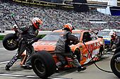 Monster Energy NASCAR Cup Series<br /> Folds of Honor Quik Trip 500<br /> Atlanta Motor Speedway, Hampton, GA USA<br /> Sunday 25 February 2018<br /> Daniel Suarez, Joe Gibbs Racing, ARRIS Toyota Camry pits<br /> World Copyright: Rusty Jarrett<br /> NKP / LAT Images