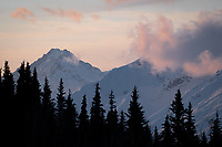 Chugach Mountains, Alaska.