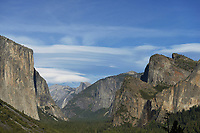 Yosemite Valley from Tunnel view, Yosemite National Park, California, USA