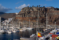 Spanien, Kanarische Inseln, Gomera, Hafen von San Sebastian