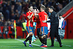 Spain's Mikel Merino  and Spain's Daniel Olmo   during the International Friendly match on 21th March, 2019 in Granada, Spain. (ALTERPHOTOS/Alconada)