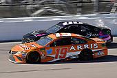 #19: Daniel Suarez, Joe Gibbs Racing, Toyota Camry ARRIS and #00: Landon Cassill, StarCom Racing, Chevrolet Camaro Share Foundation