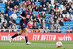SD Eibar's Sergi Enrich during La Liga match between Real Madrid and SD Eibar at Santiago Bernabeu Stadium in Madrid, Spain.April 06, 2019. (ALTERPHOTOS/A. Perez Meca)