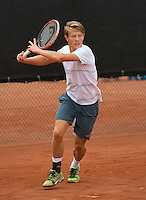 August 8, 2014, Netherlands, Rotterdam, TV Victoria, Tennis, National Junior Championships, NJK,  Siem Fenne (NED)<br /> Photo: Tennisimages/Henk Koster