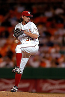 3 September 2005: Gary Majewski, relief pitcher for the Washington Nationals, on the mound during a game against the Philadelphia Phillies. The Nationals defeated the Phillies 5-4 at RFK Stadium in Washington, DC. <br />